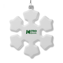 Custom Snowflake Ornament with Hanger, 4