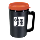 Custom Spill Resistant Lid Big Jake Mug, 6 13/16