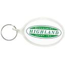 Custom Acrylic Keytag Oval, 2-1/4