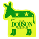 Custom Donkey Vinyl Stickers, 2 3/4