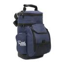 Custom Double Zippered Front Pocket Barrel Cooler, 14 1/2