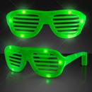 Blank Green LED Hip Hop Fashion Celebrity Sunglasses