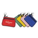 Custom Double-Zipper Coin Purse With Key Ring