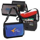 Custom 600D Polyester Laptop Messenger Bag