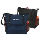 Custom 600D Polyester Messenger Bag, 17 X 15 X 4