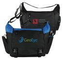 Custom 600D Polyester Sling Messenger Bag