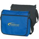 Custom 600D Polyester Messenger Bag, 14 X 12 X 4-1/2