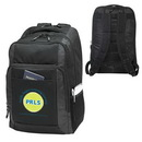 Custom 600D Polyester Laptop Backpack, 14 X 18 X 4-1/2
