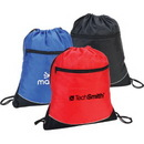 Custom 600D Polyester Drawstring Shoulder Pack