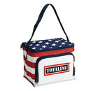 Custom Stars & Stripes 6-Pack Cooler