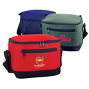 Custom 600D Polyester 6-Pack Cooler, 9 X 7 X 6