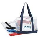 Custom 2-Tone Mesh Tote Bag