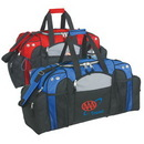Custom 600D Polyester Deluxe Sports Bag, 27 X 13 X 11