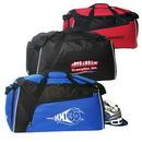 Custom Large Gym Bag With Shoe Tunnel