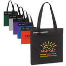 Custom 600D Polyester Budget Conference Tote