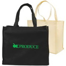 Custom Non-Woven Full Gusseted Shopping Tote, 18 X 15 X 8