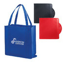 Custom Foldable Nonwoven Tote, 15 X 16 X 8
