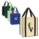 Custom Nonwoven Shopping Tote With Bottom Board