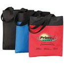 Custom 600D Polyester Two-Tone Tote Bag