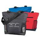 Custom 600D Polyester Tote Bag, 13 X 15 X 5 (Bottom Gusset)