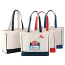Custom Canvas Tote Bag, 15 X 13-1/2 X 5-1/2 (Full Gusset)