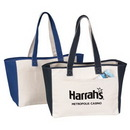 Custom Canvas Tote Bag, 16 X 12 X 5-1/2 (Full Gusset)
