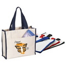 Custom Tote Bag With Front Pocket