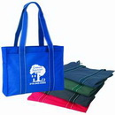 Custom 600D Polyester Tote Bag, 15 X 11-1/2 X 4-1/2 (Full Gusset)