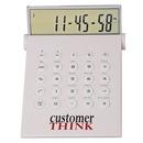 Custom Desktop Calculator/World Time Alarm Clock In One