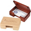 Custom Business Card Holder, 4-1/4 X 2-1/2 X 1-1/4