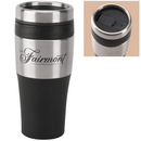 Custom 16 oz. Stainless Steel Banded Tumbler
