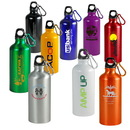 Custom Aluminum Sports Bottle, 7 H X 2-7/8 D (W/O Cap)
