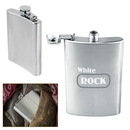 Custom 8 oz. Stainless Steel Hip Flask
