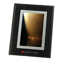 Custom Bonded Black Leather Frame, For 4 X 6 Pictures