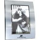 Custom Two-Tone Curved Metal Frames, For 5 X 7 Pictures