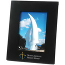 Custom Wide-Border Solid Wood Frame, For 5 X 7 Pictures