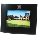 Custom Curved Wood Frame With Wide Borders, For 5 X 7 Pictures