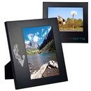 Custom Wide Border Black Wood Frame 5 X 7