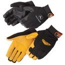 Custom Premium Grain Deerskin Palm Mechanic Glove