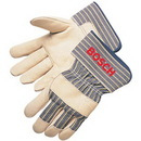 Custom Quality Grain Cowhide Work Gloves
