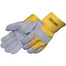 Custom Gray Select Split Cowhide Work Gloves