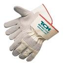 Custom Economy Split Cowhide Palm Gloves