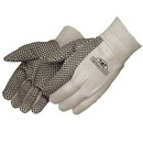 Custom 8 oz. Canvas Work Gloves With Pvc Dots