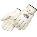 Custom Premium Grain Cowhide Driver Glove With Pull Strap