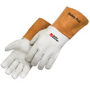 Custom Grain Cowhide Mig Welder Gloves With Kevlar&#174 Sewn