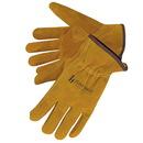 Custom Premium Bourbon Brown Split Cowhide Driver Gloves