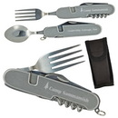 Custom 6 in 1 Stainless Steel Camping Tool