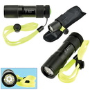 Custom 9 Led Water-Resistant Metal Flashlight
