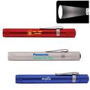 Custom Pen Size Focus Lens Led Flashlight With Clip