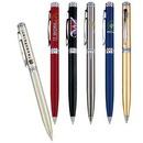 Custom Brass Barrel With Chrome Trims Ballpoint Pen, Twist Action